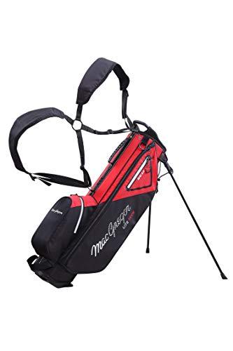 MACGREGOR Mactec 4.0 Sac de Golf pour Homme Noir/Rouge...