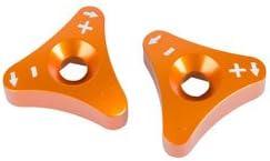 Billet WP Fork Super-cheap Adjuster Knobs Orange 450 for 2013-2016 XC-F Super-cheap KTM
