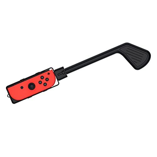 POPQ Compatibel voor Switch Golf Set, Schakelaar Golf Accessoires, Compatibel voor Switch Golf Clubs, Beschermhoes voor Golfschoenen, Golf Ball Catcher voor Putter Controller - Zwart