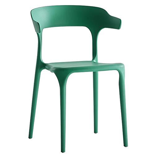 Ybzbx Barhocker Kunststoff Esszimmerstuhl Sessel Hotel Verhandlungsstuhl Freizeit Kunststoffstuhl Bürohornstuhl Geeignet Für Die Aufnahme Von G?sten
