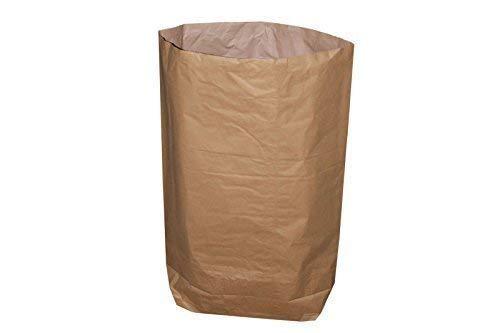 Papiersack - 2-lagig - 120 Liter - 70 x 95 + 20 cm (10 Stück)