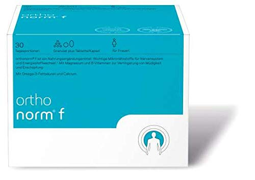 orthomed orthonorm® f (Granulat / 1 Kapsel / 1 Tablette) 30 Tagesportionen (30x16,2g = 486g)