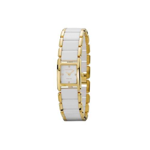 Pandora 812022WH - Reloj analógico de mujer de cuarzo con correa de acero inoxidable multicolor