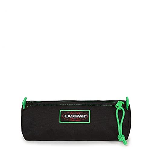Eastpak Benchmark Single Estuche, 21 cm, Negro (Kontrast Clover)