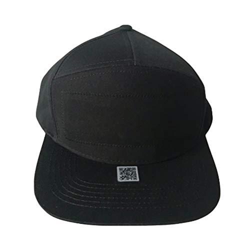 Sombrero con Bluetooth Led,Gorro de Hip Hop con Bluetooth Pantalla LED,Gorra de Béisbol, Gorra de Hip Hop,Gorra de Golf, para Pesca Nocturna,Caza