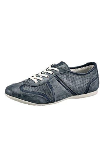 Mustang Shoes Chaussures d'été à lacets pour femme Bleu Pointure 41 - Bleu - bleu, 41 EU