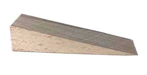 cuñas de madera maciza de haya 25 unidades