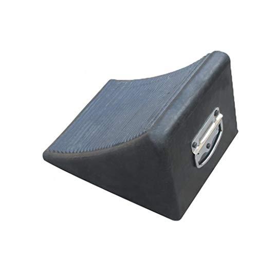 Buffer-Feng Bordstein-Rampenmatte, Reifensuchgerät Gummi-Dreieck-Auflage Anti-Rutsch-Auflage (größe : 24 * 20 * 15CM)