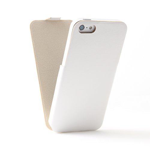 iPhone 5s / 5 ケース ジャケット | Full Face Jacket for iPhone 5s / 5 White