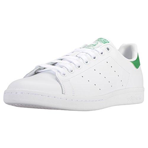 Adidas Originals Stan Smith Baskets mode, Mixte Adulte, Blanc (Running White Ftw/Running White/Fairway), 46 EU