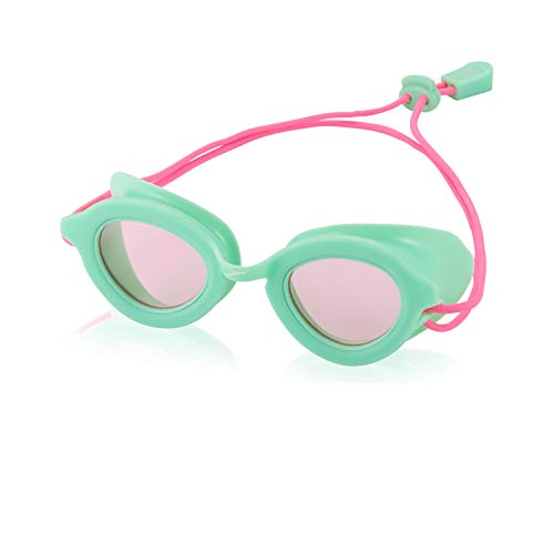 Speedo Unisex-Child Swim Goggles Sunny G Ages 3-6 Aqua Mint, One Size