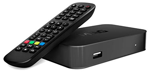 Infomir MAG420w1 Set-Top Box 4K HEVC Support 512 Mb RAM, 512 Mb NAND, USB × 2 pcs. (3.0, 2.0), Built-in Wi-Fi, Linux OS, HDMI and RCA outputs