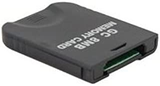 8MB Memory Card for Game Cube GC (Black)