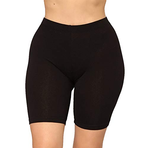 Shujin Damen Hohe Taille Yoga Shorts Gym Strumpfhosen Bauch Kontrolle Po Lifting Frauen Slim Fit atmungsaktiv Fahrradshorts Tanz Sportshorts