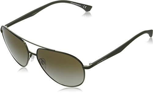 Emporio Armani Gafas de Sol EA 2096 Matte Green/Green Shaded 60/14/140 hombre