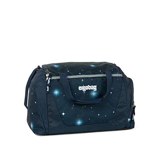 Ergobag Duffel Bag Sporttasche, Unisex, Kinder, Blau Galaxy Glow, 20 l