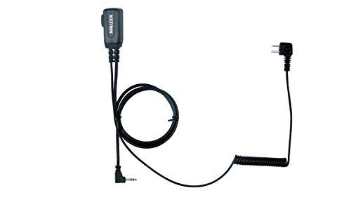 NAUZER PTT-32M2 Motorola Cable con Micro PTT Compatible Casco PELTOR SPORTTAC Caza