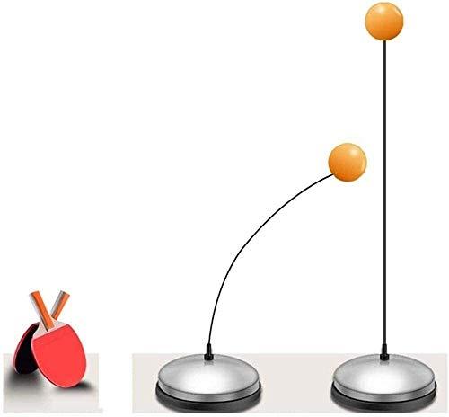 LAMTON Ping-Pong Trainer Ping Pong Balls Pagaie Training Set Elastico Morbido pozzo interrato Trainer Pratica Sfera