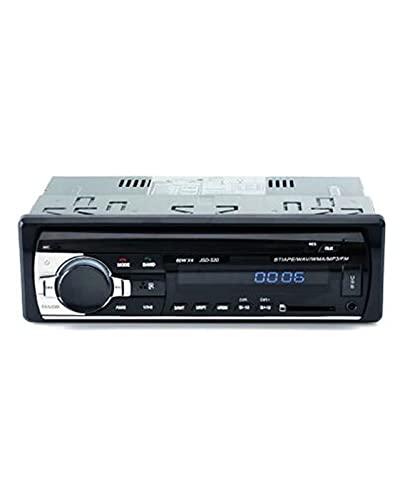 ACD Fit For JSD-520 1 DIN, Reproductor Multimedia de MP3 para Coche, Radio estéreo para Coche, Receptor de FM, Entrada Auxiliar, SD, USB, 12 V, Radio automática con Bluetooth en el Tablero