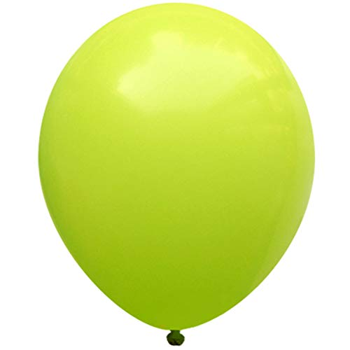 Neo LOONS(TM) 5 Inch Pack of 100 Pcs Pastel Lime Green Premium Latex Balloons Great for Kids , Birthdays, Weddings , Receptions, Baby Showers, Water Fights, or Any Celebration