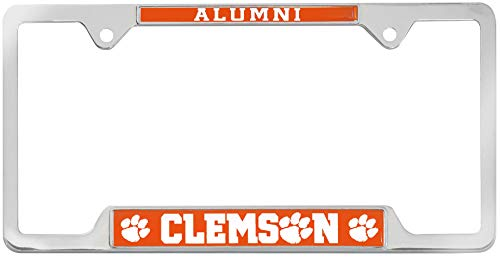 AMG Auto Emblems All Metal NCAA Alumni License Plate Frame … (Clemson)
