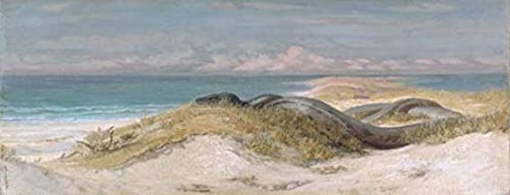 Wall Art Print Entitled Elihu Vedder, Lair of The Sea Serpent by Celestial Images | 16 x 6