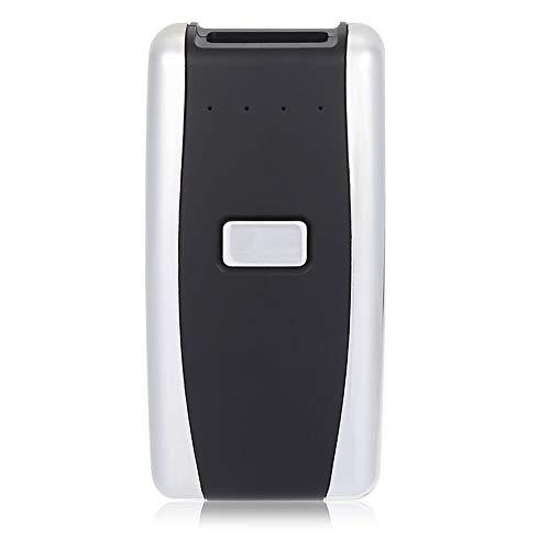 Barcode scanner portable 1D 2D mini sans fil Bluetooth 4,0 & 2.4 G lecteur de code-barres sans fil compatible pour magasin supermarché entrepôt bibliothèque