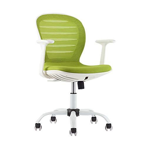 Fhw silla de oficina sillón giratorio de entretenimiento de nuevo presidente de la conferencia silla de oficina silla multicolor soporte del asiento asiento de soporte del pecho del asiento trasero de