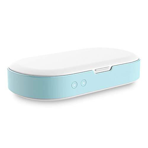 Smart Phone Sanitizer Portable UV Lights Cell Phone Sanitizer Sterilisator Cleaner Aromatherapie Functie Disinfector for All Cellphone Tandenborstel