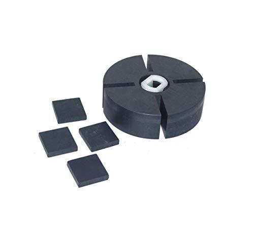 PP204 1/2' thick Rotor Kit FOR Reddy Desa Dyna Glo Mi-T-M KFA1000 68-3043 HA3004