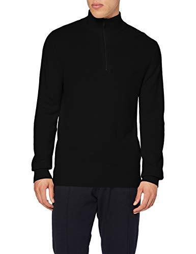 Celio Selim suéter, Negro, L para Hombre