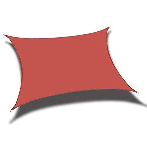 PLEASUR partij zonnebrandcrème luifel rechthoek zon schaduw zeil blok waterbestendig PES zonnebrandcrème luifel 4 kleuren en 7 maten voor outdoor werf partij