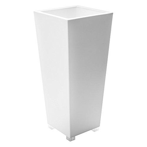 Serralunga kabin Vaso, Bianco, 35x35x67 cm