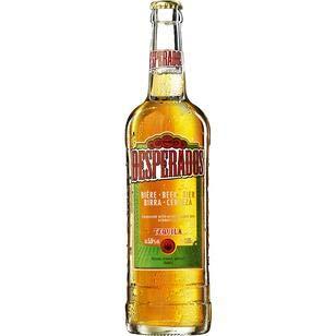 12 Flaschen große Orginal Desperados a 0,65l incl. 1.80€ MEHRWEG Pfand Bier Flavoured with Tequilla