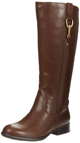 Hot Sale LifeStride Women's X-Ibit 2 Wide Calf Boot,Brown,6.5 M US