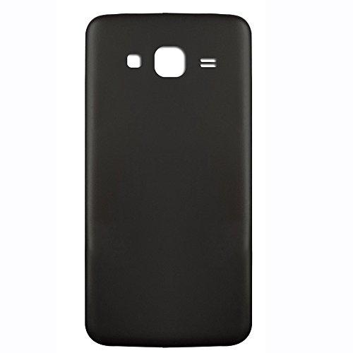 UU FIX Tapa de Batería para Samsung Galaxy J3(Negro) de la Reemplazo Parte Trasera Battery Cover con Kit Reparación.