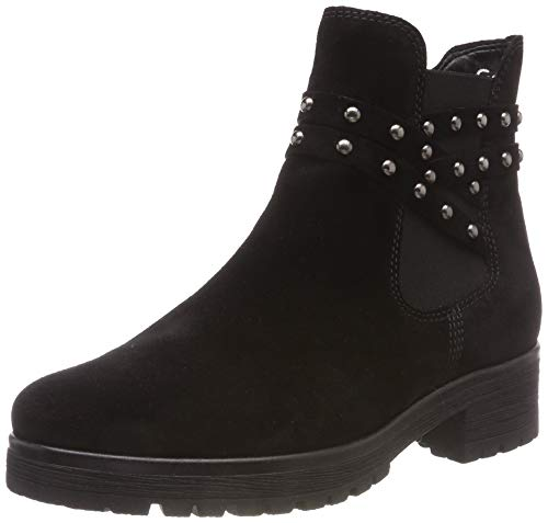Gabor Shoes Damen Comfort Sport Stiefeletten, Schwarz (Mel.) 47, 37.5 EU