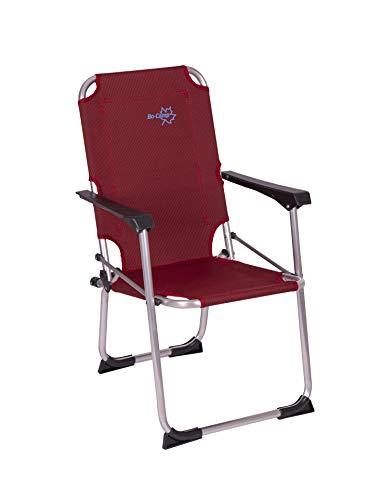 Bo-Camp Copa Rio Kids - Kinder Klapp-Stuhl Aluminium rot 43x45x75cm Belastbarkeit 80kg
