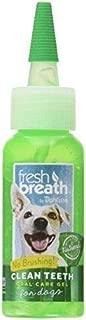 Fresh Breath Clean Teeth Gel for Dogs, 2 oz -Original Mint