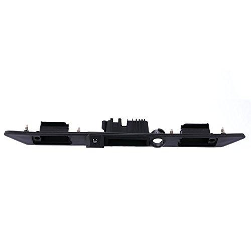 Navinio Imperméable à l'eau de Vision Nocturne Tronc Poignée de Voiture Caméra de Recul de Vue Arrière pour Audi A3 A4 A6L A8L A8 Q7 A4 B6 C6 B7 8E 8H Q5 Q7
