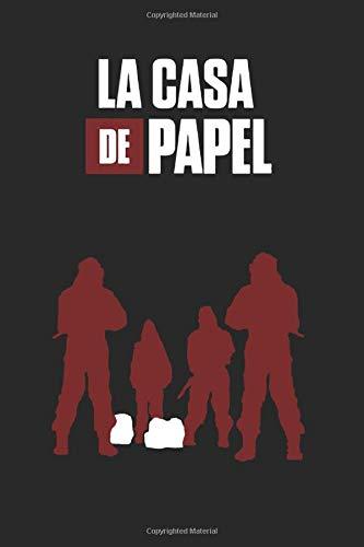La Casa De Papel: notebook, 100 lined pages, 6x9''