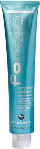 Fanola Tinte 7.4 Rubio cobre 100 mL - Tinte crema colorante permanente para el cabello pelo - Color uniforme y brillante - PROFESIONAL | Copper, rame