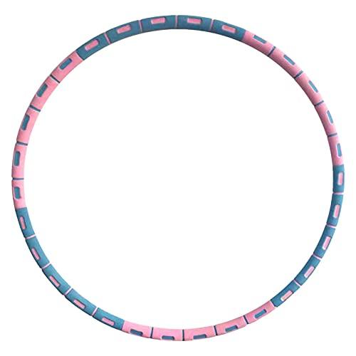 Theaceae Aros De Hula Material Gimnasio Anillo De Gimnasia, Fitness Hoop Gym Interior Removible Hula Ring Cintura Delgada Equipo De Entrenamiento Portátil
