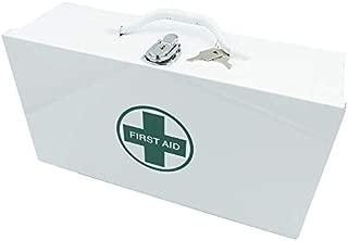 "Alcare Metal First Aid Box Empty, 15"" x 8"" x4.5"""