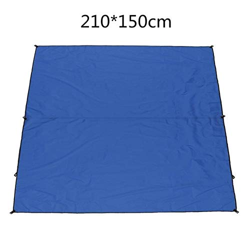 LIMMC waterdichte zonwering zonwering bescherming buiten luifel tuin patio zwembad schaduw zeil luifel camping picknick tent blue 210x150cm