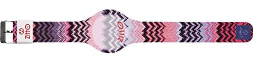 Orologio digitale unisex piccolo ZITTO MISSY STREET EDITION in silicone rosa DOSEOFPINK-MINI-KR
