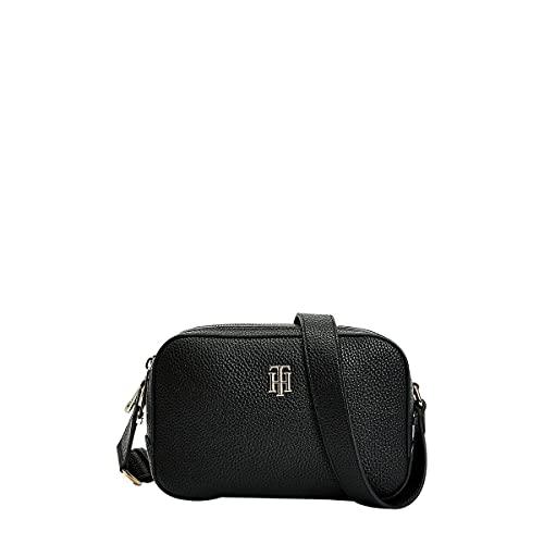 Tommy Hilfiger TH Essence Camera Bag, Sac à Dos Femme, Noir, Taille Unique
