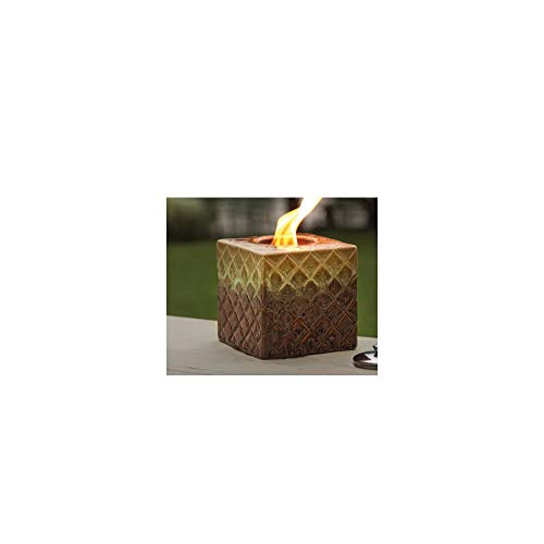 %20 OFF! Marshall Home MBS-13-4-1350N 6 W x 6 H in.44; Cube Ceramic Firepot