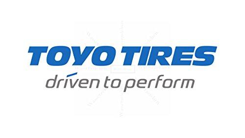 10cm! 2Stück! Aufkleber-Folie Wetterfest Made IN Germany Toyo-Tire AD432-Logo UV&Waschanlagenfest Auto-Sticker Decal Profi Qualität bunt Digital-Schnitt!