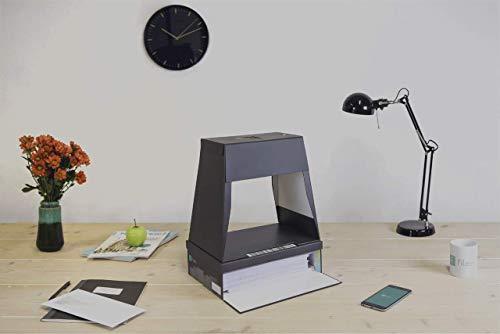 fileeeBox Set 2.0 - Dokumente mit dem Smartphone scannen, Archivierungsbox und Scanner für Dokumente, günstiger Dokumentenscanner für Handys und Smartphones